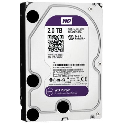 Disco Hd Western Digital Purple 2TB 3,5""