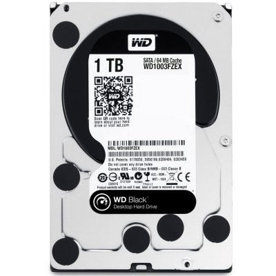 Disco Hd Western Digital Black 1TB 3,5""