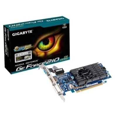 Gráfica Gigabyte NVIDIA GT210 1GB DDR3