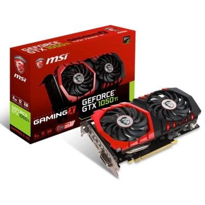 Gráfica MSI NVIDIA GTX1050 Ti Gaming 4GB