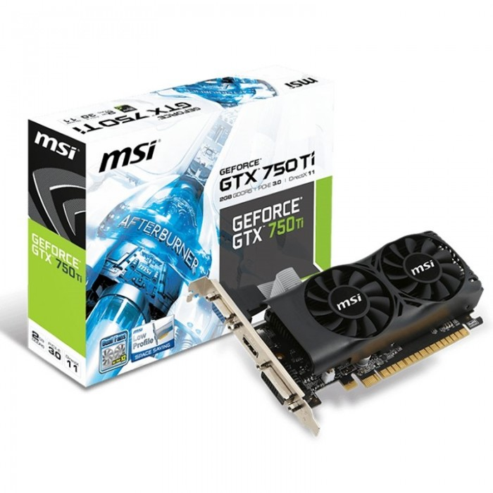 Gráfica MSI NVIDIA GTX N750T 2GB DDR5