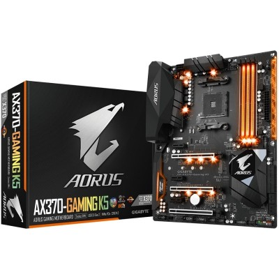 Placa Base Gigabyte AX370 Gaming K5 AM4
