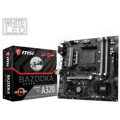 Placa Base MSI A320M BAZOOKA AM4