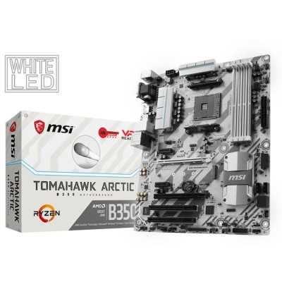 Placa Base MSI B350 TOMAHAWK ARCTIC