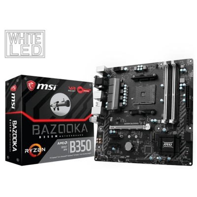 Placa Base MSI B350M BAZOOKA AM4