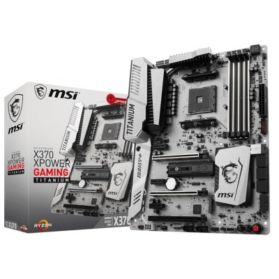 Placa Base MSI X370 XPOWER GAMING TITANIUM