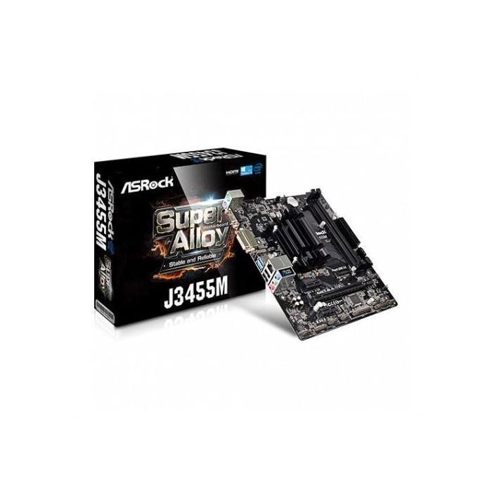 Placa Base ASROCK J3455M CPU QUAD CORE
