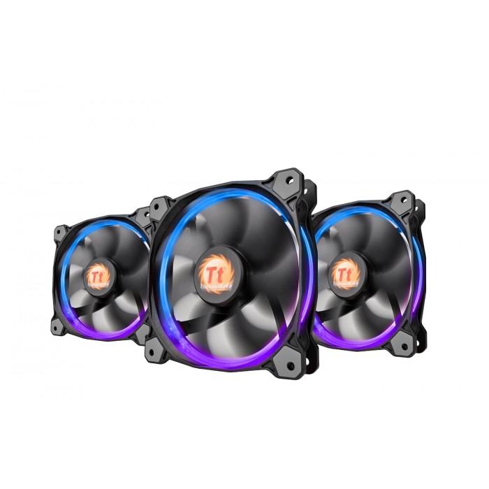 Pack Triple Ventilador Thermaltake Riing