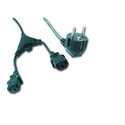 Cable Alimentacion CPU Doble 2M