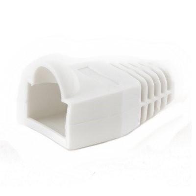 Funda Conector RJ45 Plástico Blanco
