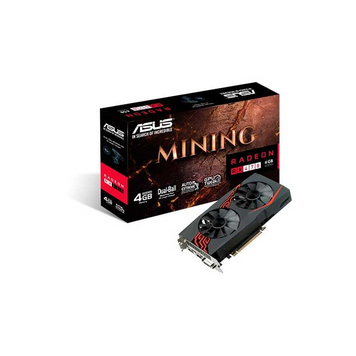 ASUS MINING RX470 4G LED