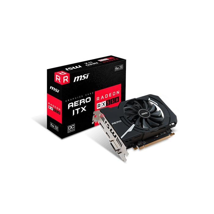 MSI RX 550 AERO ITX 4G OC