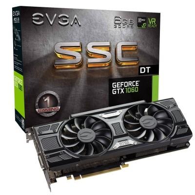 EVGA NVIDIA GTX 1060 6GB DDR5