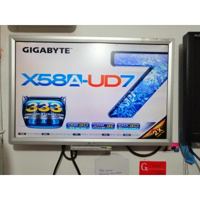 PLACA GIGABYTE x58a-ud7 socket 1366