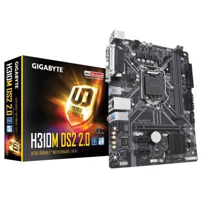 Gigabyte H310M DS2 2.0 mATX 1151