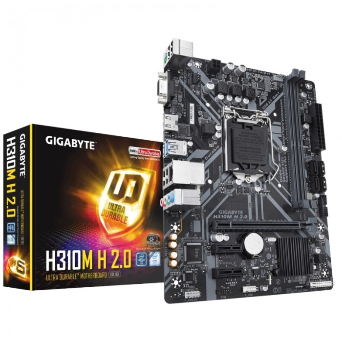 Gigabyte H310M H 2.0 mATX 1151