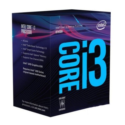 Intel Core i3 8100 3.6Ghz 6MB