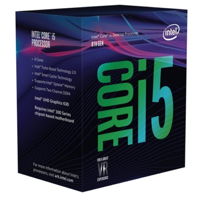 Intel Core i5 8400 2.8Ghz 9MB