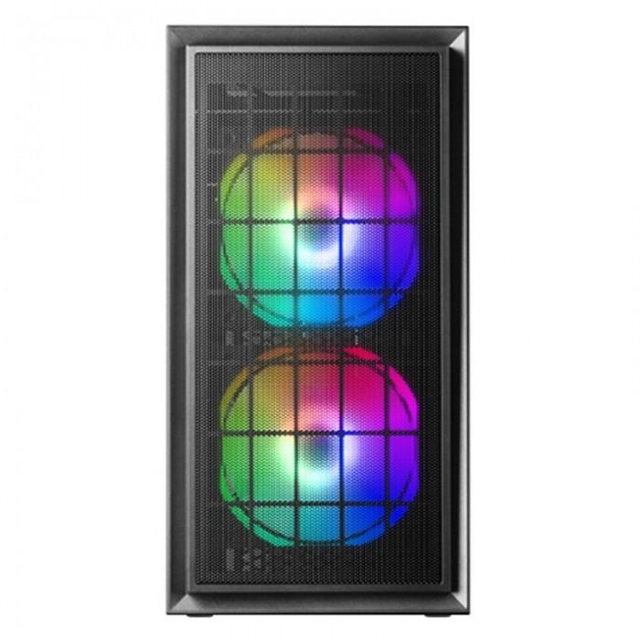 Caja MCDUO MICRO-ATX 2XFRGB