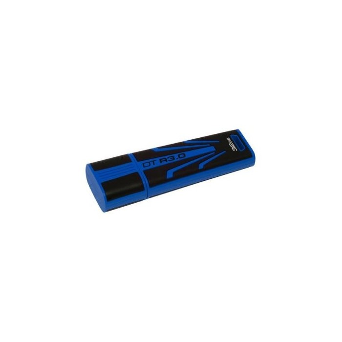 Kingston DataTraveler DTR30 32GB USB 3.0 Azul/Neg