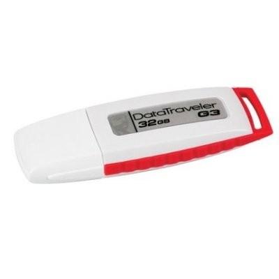 Kingston DataTraveler DTIG3 32GB USB 2.0 Bco/rojo