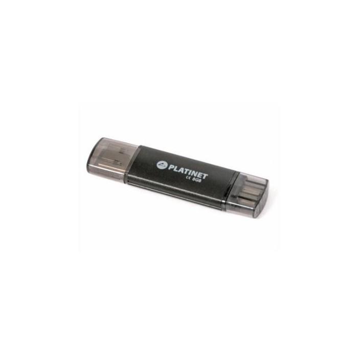 Omega Platinet PMFA8 Lápiz USB X-Depo+microUSB 8GB