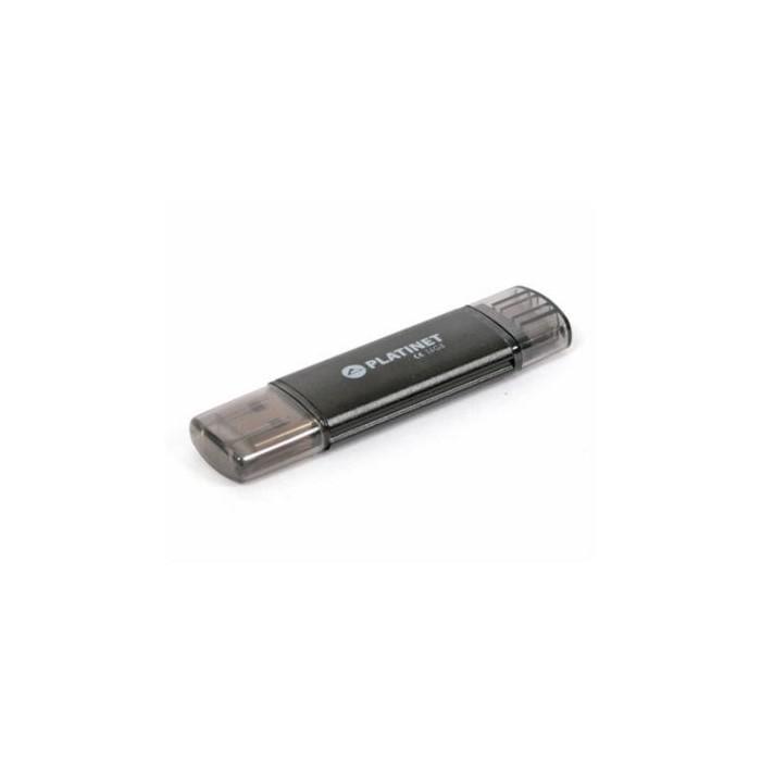 Omega Platinet PMFA16 Lápiz USB X-Depo+microUSB 16