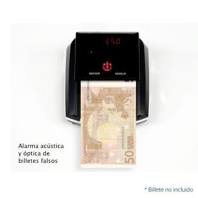 Detectalia Detector motorizado de billetes falsos