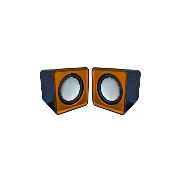 Omega Altavoz 2.0 OG-01 Surveyor 6W Naranja Usb