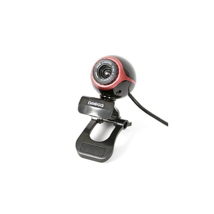 Omega Webcam C10 Value Line con Micro Negra