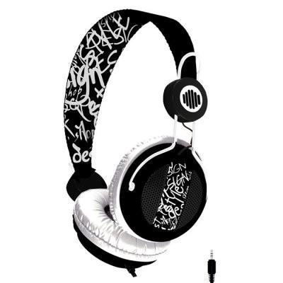 B-Move BM-AUB05 Auricular+Micrófono Soundwave N/Bl