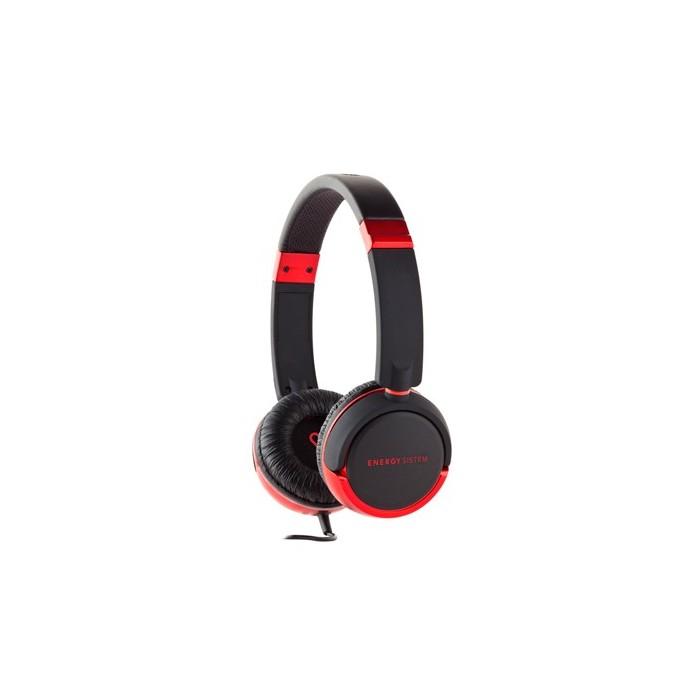 Energy Sistem Auriculares DJ 310 Negro y Rojo