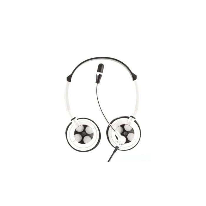 NGS Auricular + Micrófono MSX7Pro Blanco