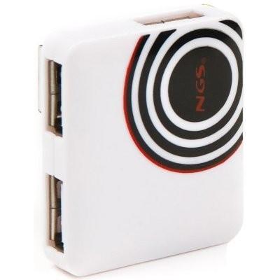 NGS Target MicroHUB 4x USB 2.0 blanco