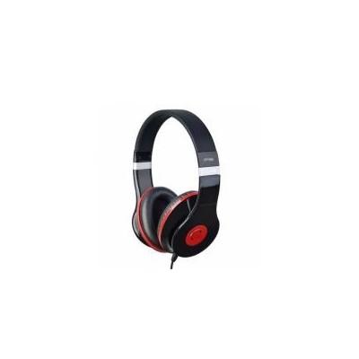 Omega Auricular Estereo HI-FI FH4005 Negro/Rojo