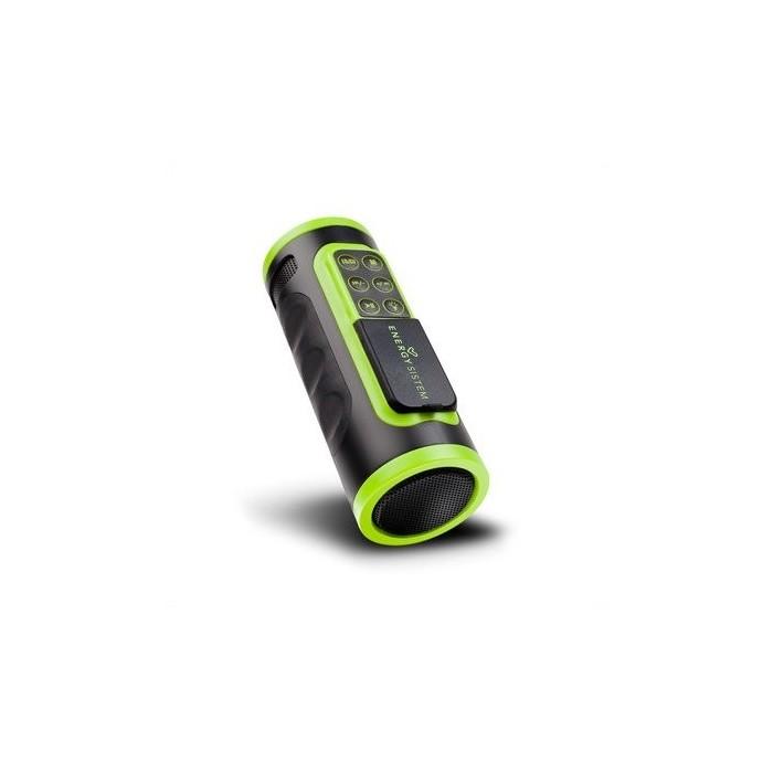 Energy Sistem MP3 Bike Music Box+Linterna Neg/Ver