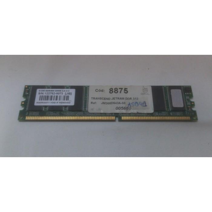Transcended JM366D643A-50 512Mb DDR 400Mhz