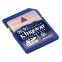 Kingston Sd Secure Digital SDHC 4GB Clase 4
