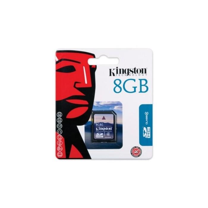 Kingston SD4 8GB Secure Digital SDHC 8GB CLASE 4