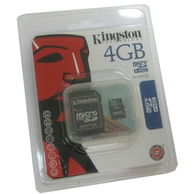 Kingston SDC4/4GB MICROSD HC CLASE 4 4GB