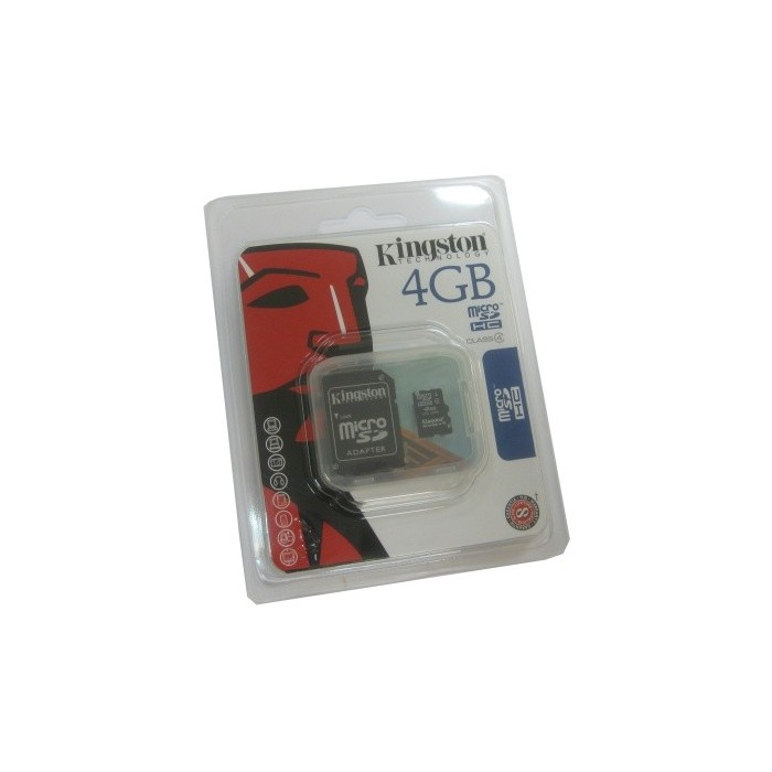 Kingston SDC4/4GB MICROSD HC CLASE 4 4GB