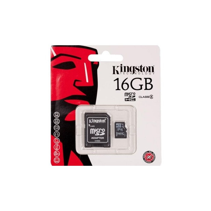 Kingston SDC4/16GB MICRO SD HC Clase 4 16GB
