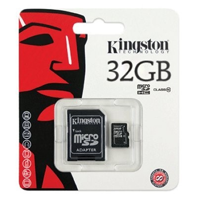 Kingston SDC10/32GB MICRO SD HC Clase 10 32GB