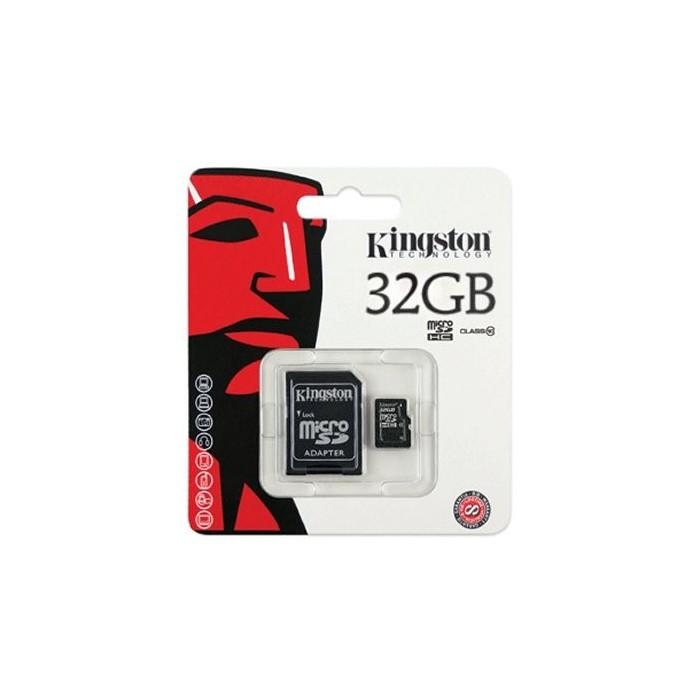 Kingston SDC10/32GB MICRO SD HC Clase 10 32GB