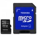 Toshiba SD-C32GJ MICRO SD CLASE 4 32GB Adaptador
