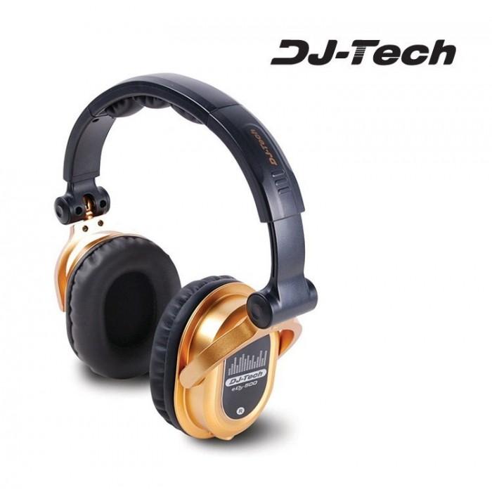 Auricular Dj Profesional DJTECH EDJ 500 Dorado