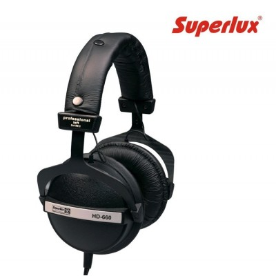 Auricular SuperLux HD660 Negro/Blanco