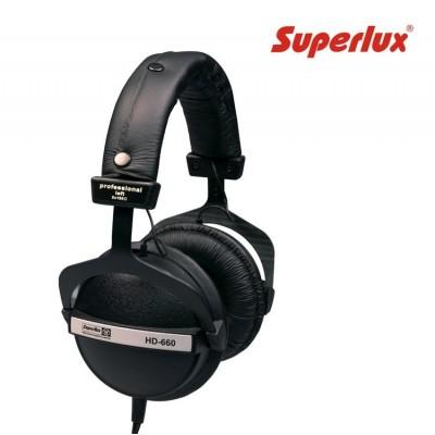 Auricular SuperLux HD660 Negro/Blanco