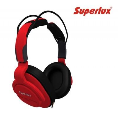Auricular SuperLux HD661 Rojo Profesional