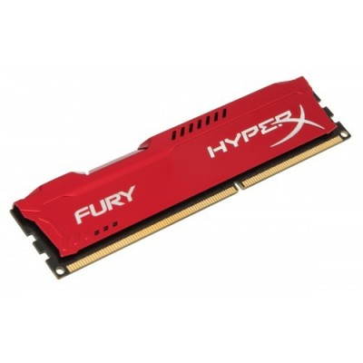 KINGSTON HIPERX FURY RED DDR3 4GB PC1600